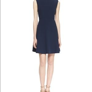 French Connection Classic Navy Flare Dress